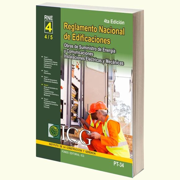 RNE-Obras de Suministro de Energía y Comunicaciones. Instalaciones Eléctricas y Mecánicas - 4.a