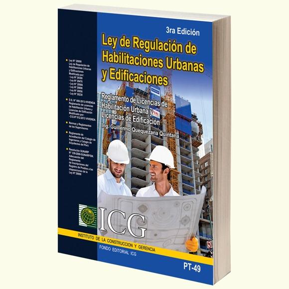 Ley de Regulación de Habilitaciones Urbanas y Edificaciones - 3.a