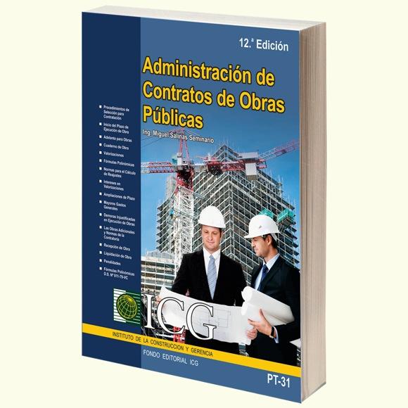 Administración de Contratos de Obras Públicas - 12.a