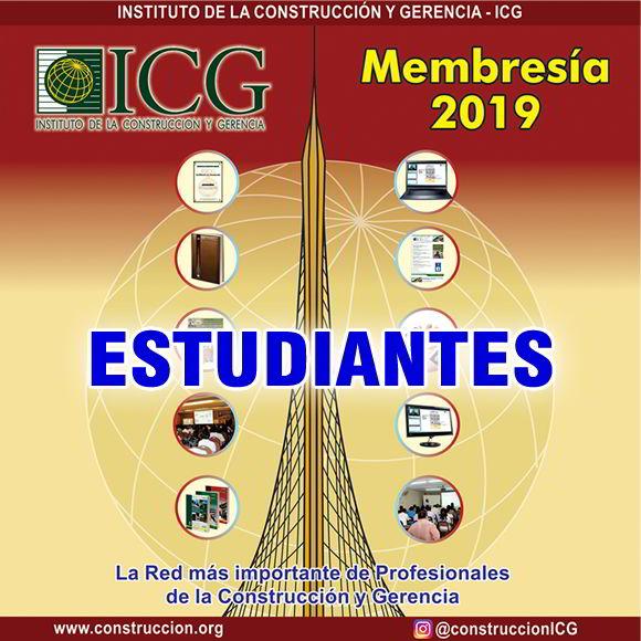 Membresía 2019 - Estudiante