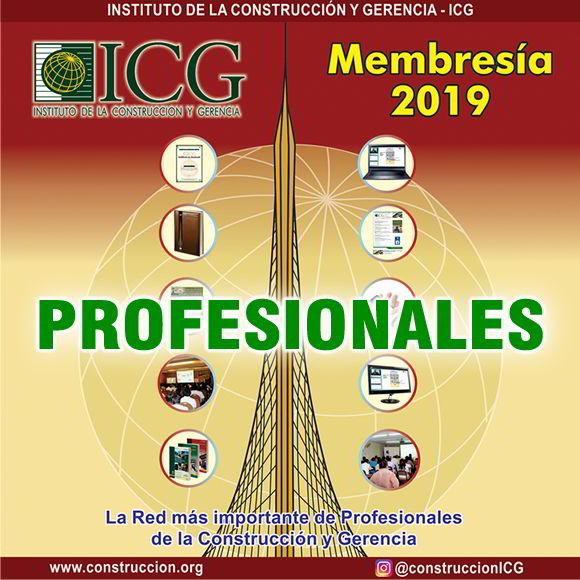 Membresía 2019 - Profesional