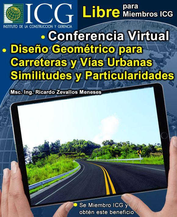 Diseño Geométrico para Carreteras y Vías Urbanas Similitudes y Particularidades