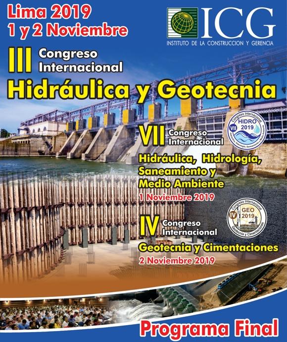 III Congreso Internacional Hidráulica y Geotécnia