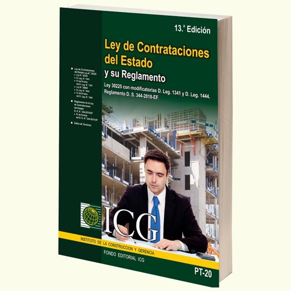 Ley de Contrataciones del Estado y su Reglamento - 13ma