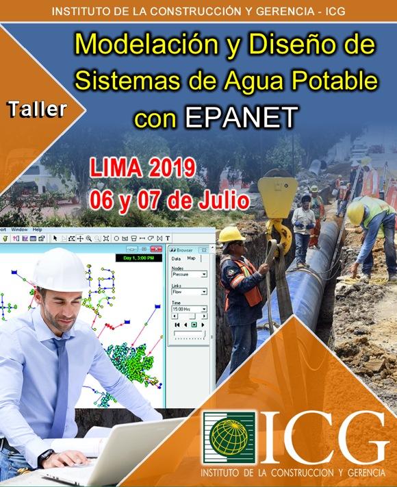 Modelación y Diseño de Sistemas de Agua Potable con EPANET