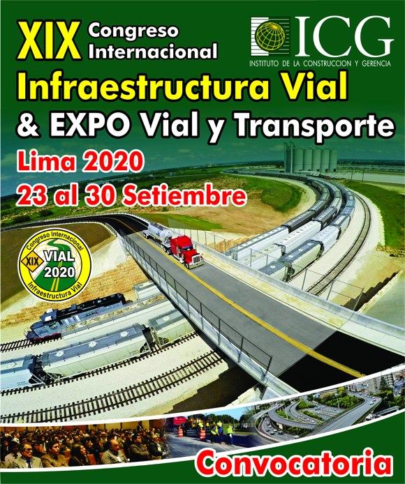 XIX Congreso Internacional Infraestructura Vial & EXPO Vial y Transporte 2020