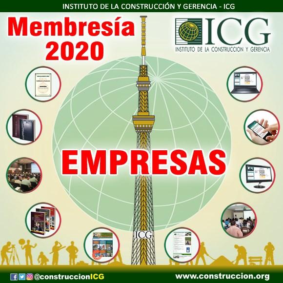 Membresía 2020 - Empresarial