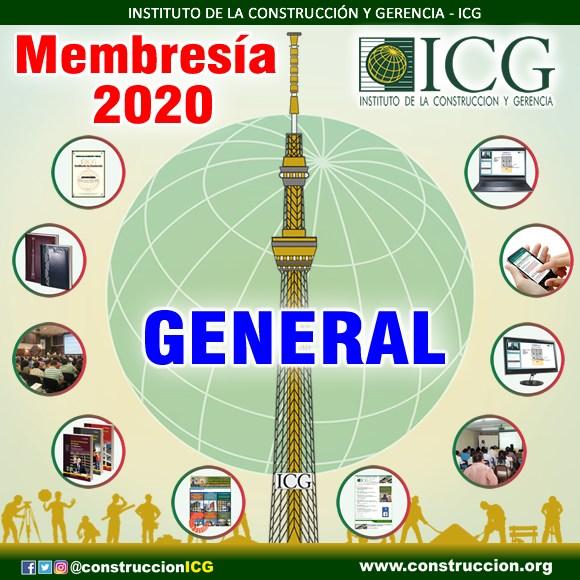Membresía 2020 - General