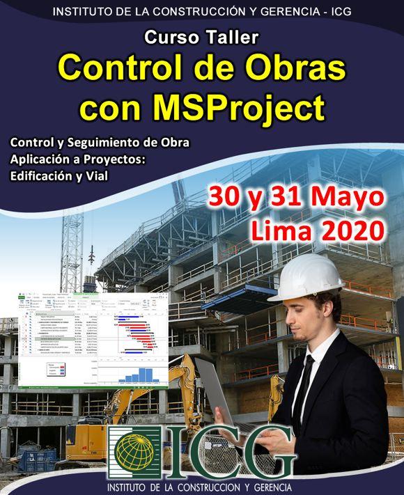 Control de Obras con MSProject